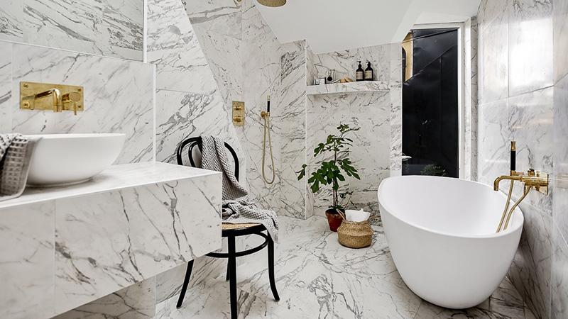 marmer natuursteen badkamer - Cees Woud Natuursteen Westknollendam ...