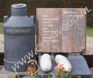 tekst grafsteen