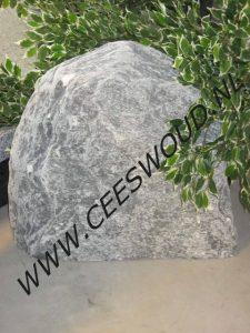 zwerfkeien ruwe steen
